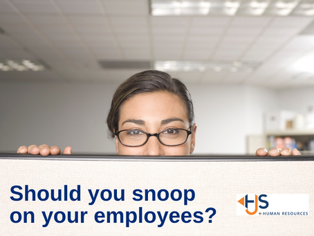 Should You Snoop On Your Employees?