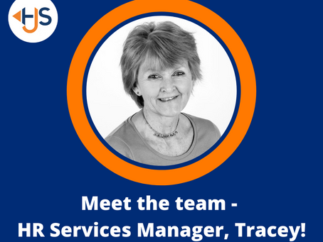Meet the team - Tracey!