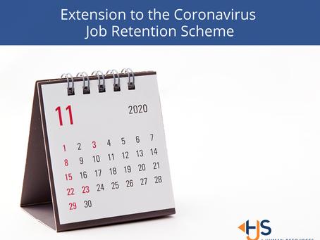 Extension to the Coronavirus Job Retention Scheme (Furlough Scheme) to 31 March 2021