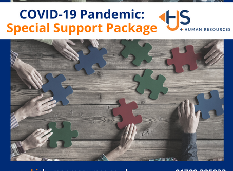 COVID-19 Pandemic - HR Support Package