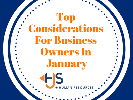 Top Considerations For Business Owners In January