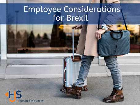 Employee Considerations for Brexit