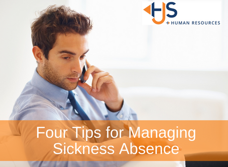 Four Tips for Managing Sickness Absence