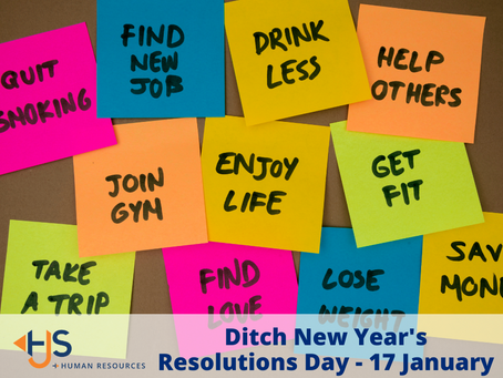 Ditch New Year's Resolutions Day