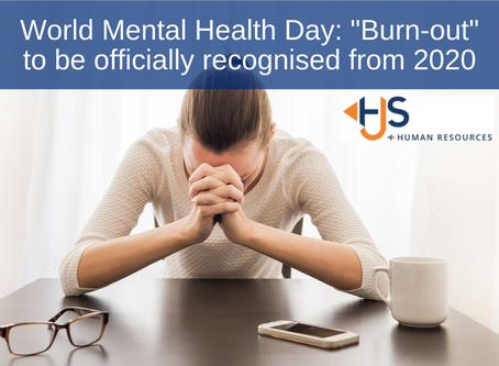 "World Mental Health Day: ""Burn-out"" to be officially recognised from 2020"