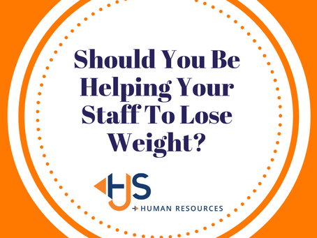 Should You Be Helping Your Staff To Lose Weight?
