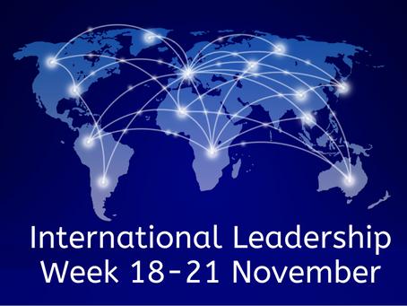 What is International Leadership Week?
