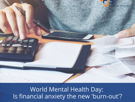 World Mental Health Day: Is financial anxiety the new 'burn-out'?
