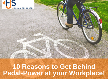 10 Reasons to Get Behind Pedal-Power at Your Workplace!