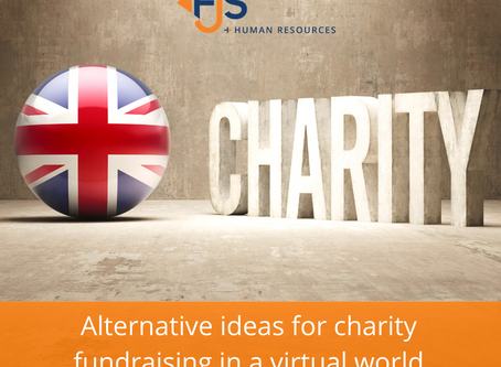 Alternative ideas for charity fundraising in a virtual world