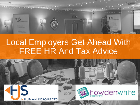 Local Employers Get Ahead With Free HR And Tax Advice