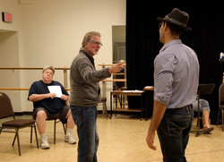 directing Funnyman w/ George Wendt