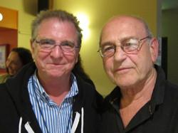 with Irish playwright Tom Murphy