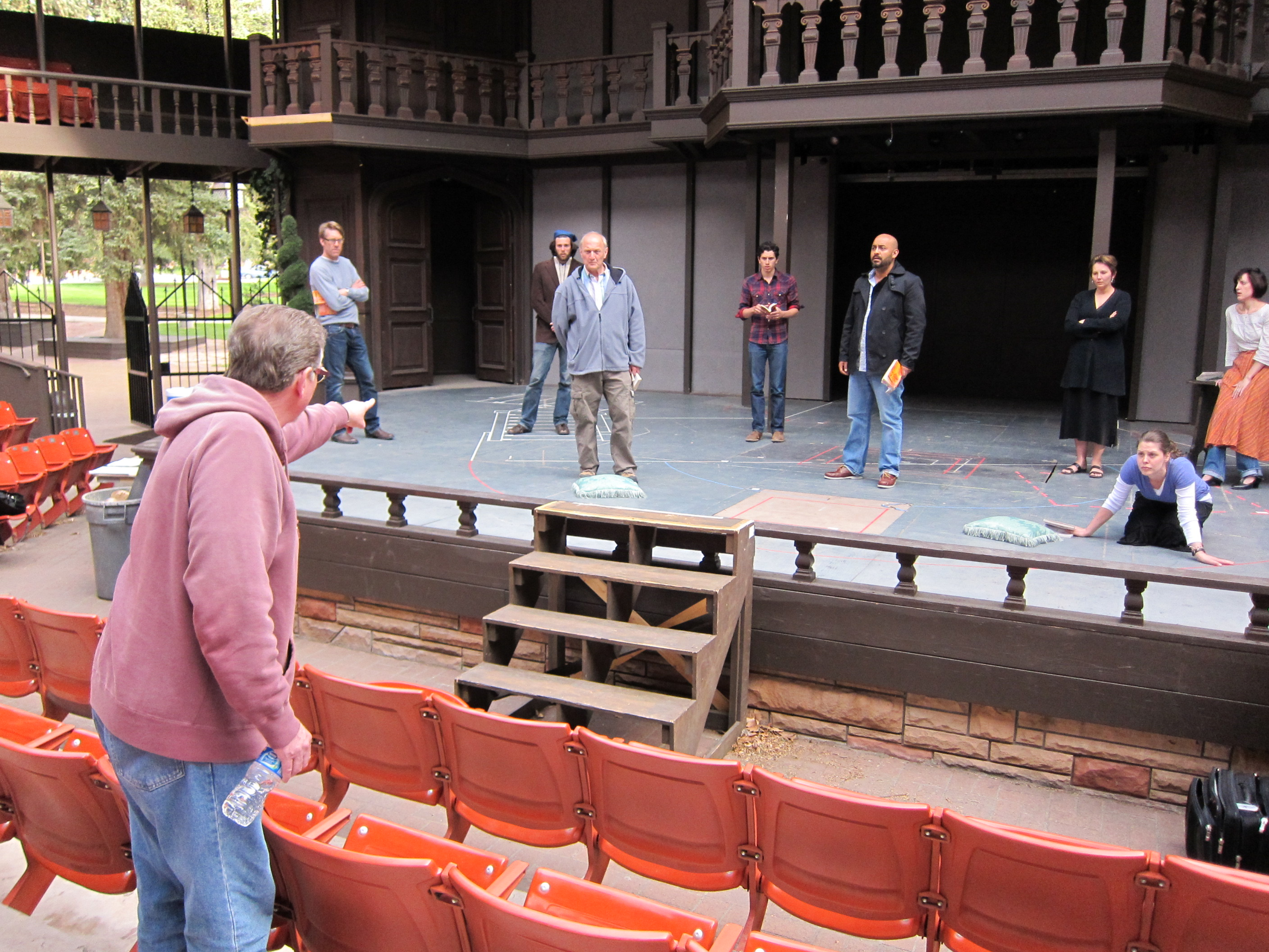 directing Much Ado at Utah Shakes