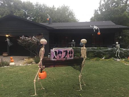 Halloween Decoration & Chalk Art Contest Winners
