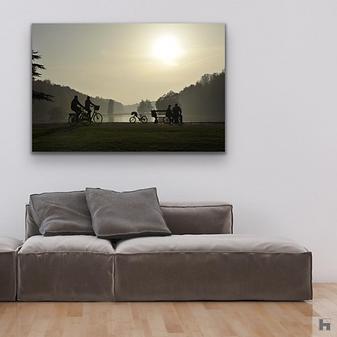 """""""Secrète Contemplation"""", landscape"""