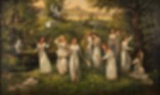 meninas russas eslavas pintura russa rússia antiga contos de fada russas