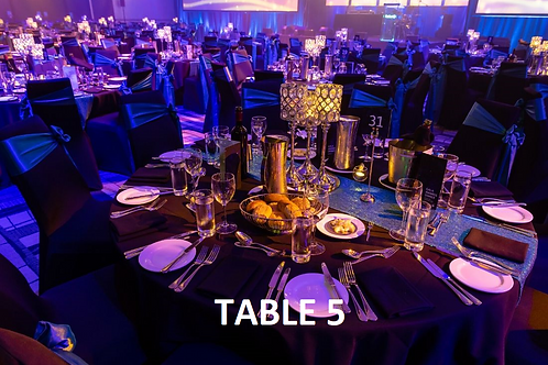 Corporate Table 5 (Seats 8)