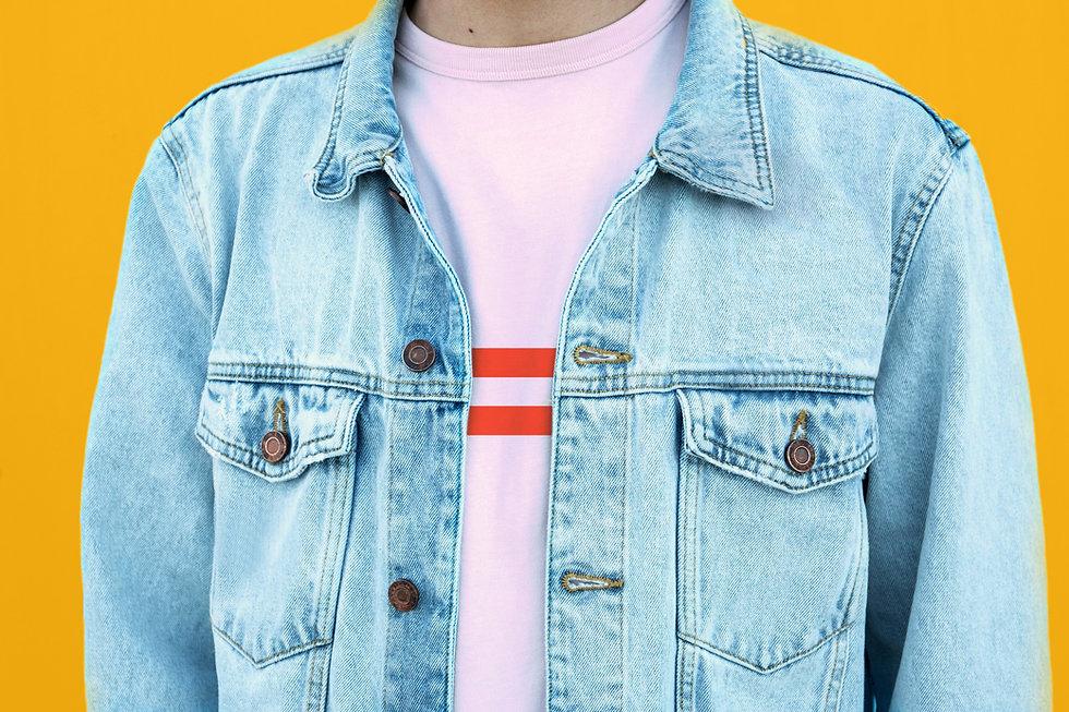 Model Denim Jacket