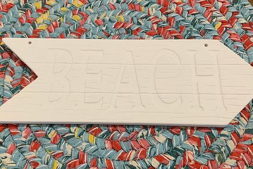 Beach Plaque Pottery