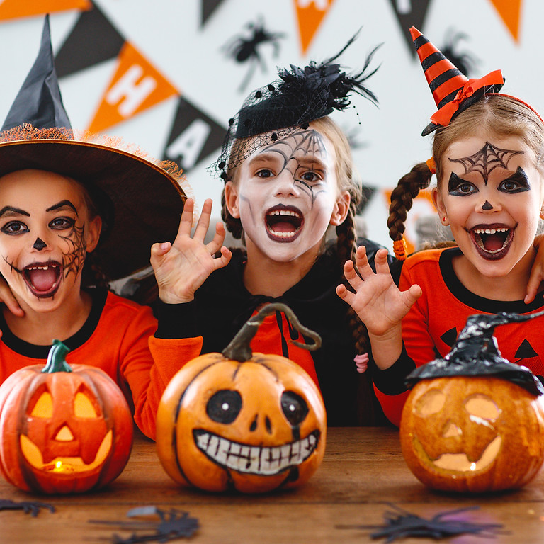 Kids Halloween Party: Haunted House Paint & Costume Party