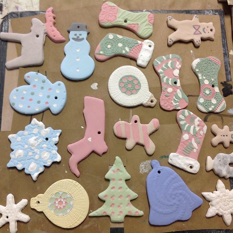 Family Clay Ornaments
