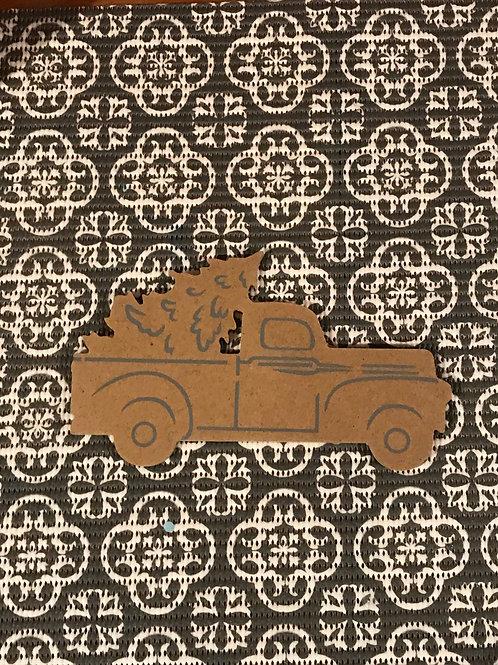 Truck & Tree Mosaic Kit