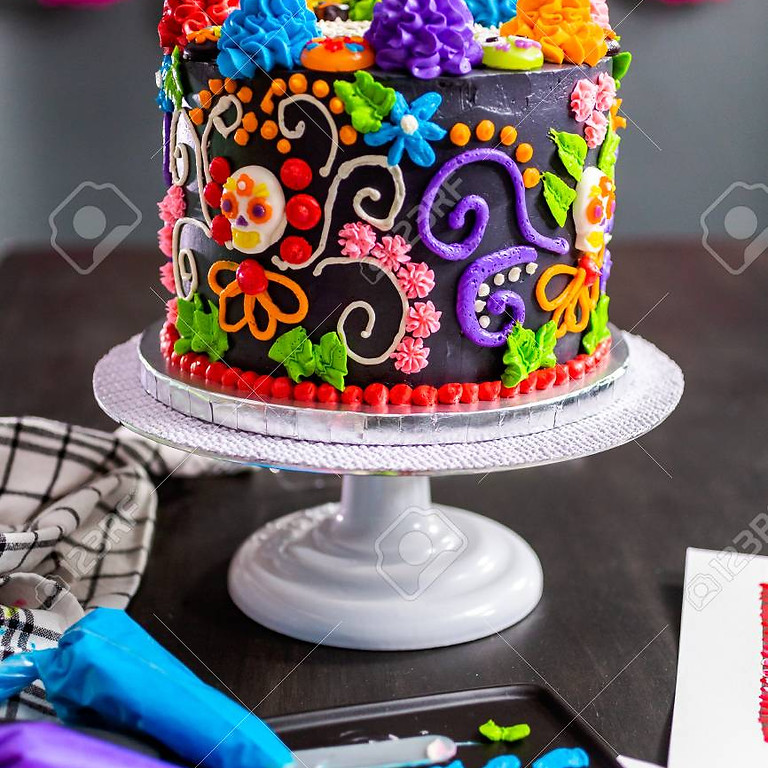 Day of the Dead Cake Decorating Class
