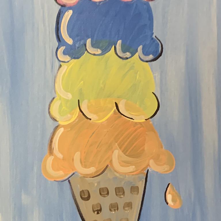 Ice Cream Paint Party & Sundaes!