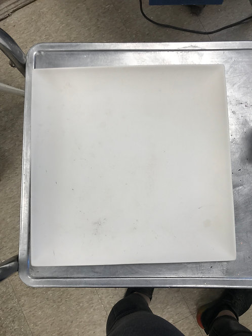 Large 12 in Square Plate