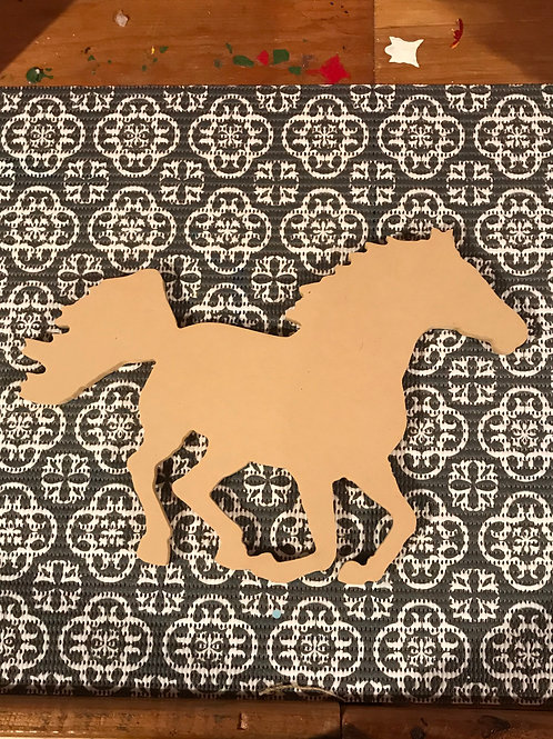 Horse Mosaic Kit