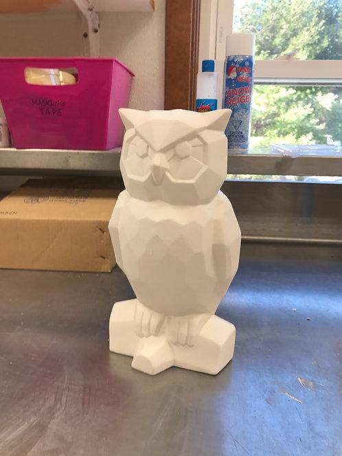 Large Ceramic Owl