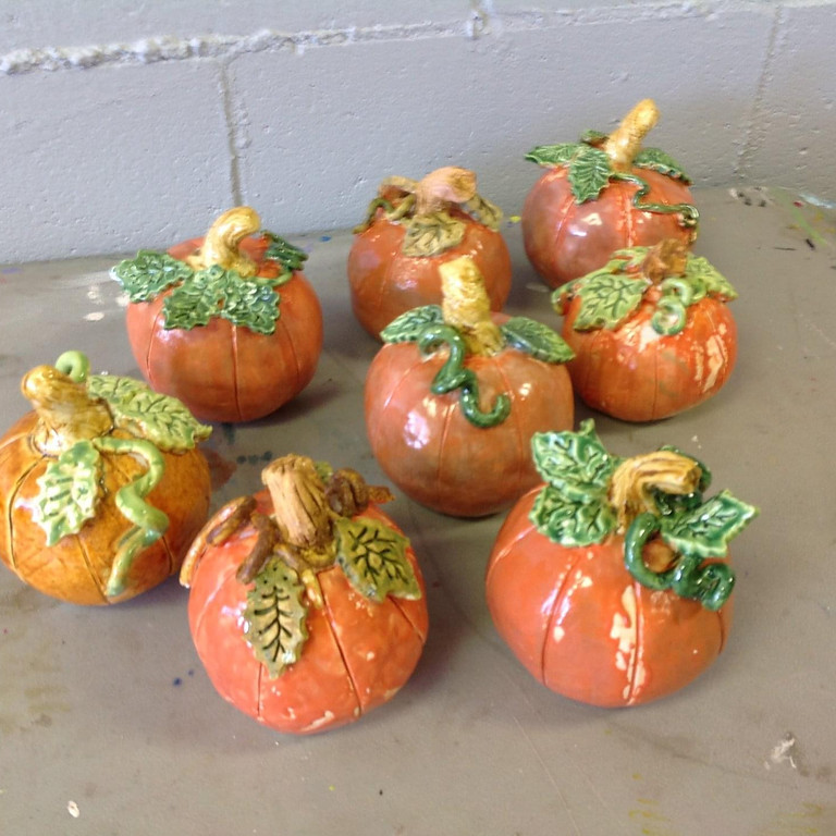 Family Clay Event: Pumpkin Patch