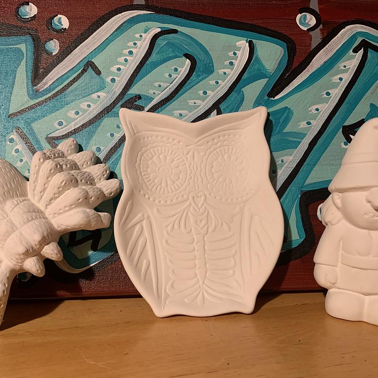 "Fight Hunger: Ceramic Glazing Kit ""To Go"""