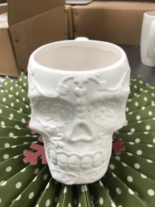 Day of the Dead Sugar Skull Mug