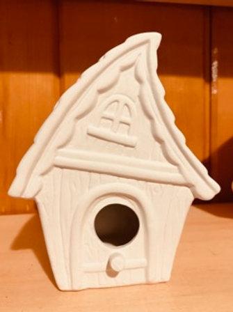 Whimsical Bird House Pottery