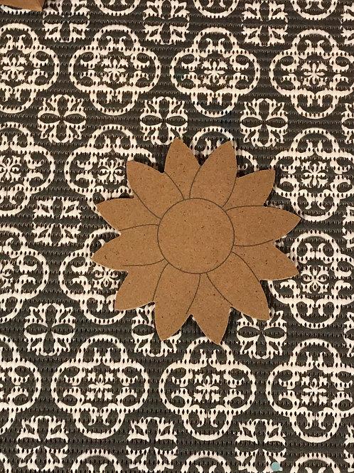 Small Sunflower Mosaic Kit