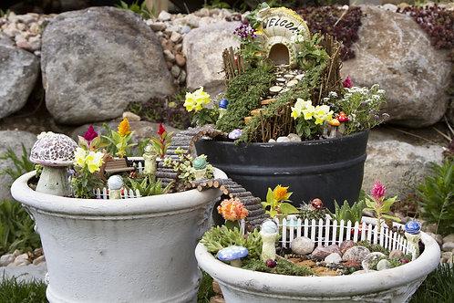 Fairy / Gnome Garden DIY