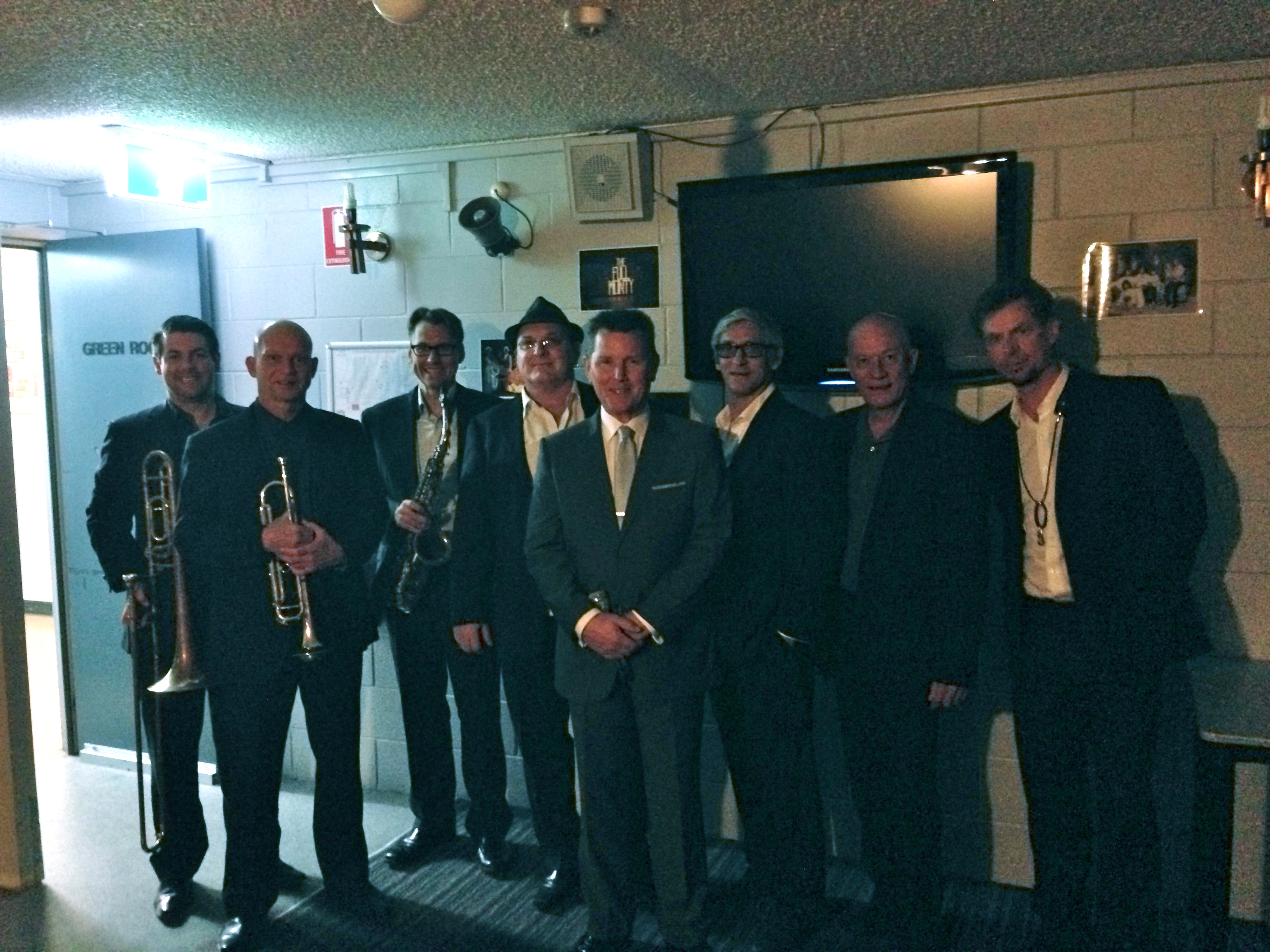 Touring with Tom Burlinson