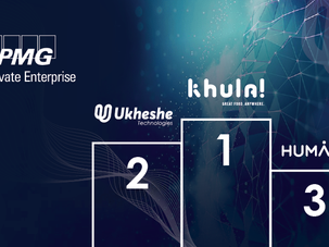 Ukheshe comes second in the prestigious KPMG Global Tech Innovator Launch