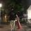 Thumbnail: ロゴリフレクタープリントT 黒×グレープリント