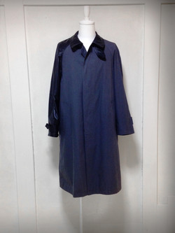 leather-arm Stand Fall Collor Coat