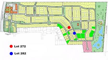 Settlemnt at Willo Grove Map