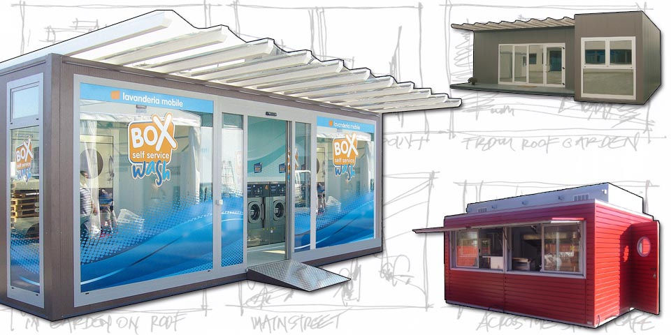 Containere comerciale multifunctionale,