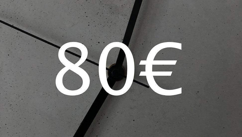 Graubetont Gutschein 80