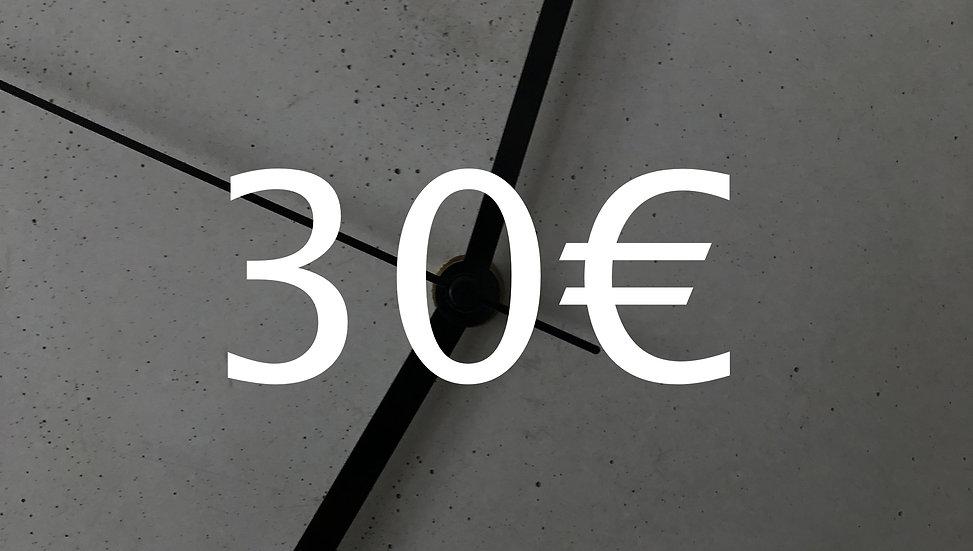 Graubetont Gutschein 30