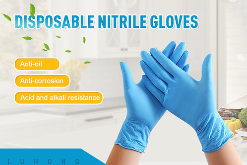 Disposable nitrile gloves (Non-medical)