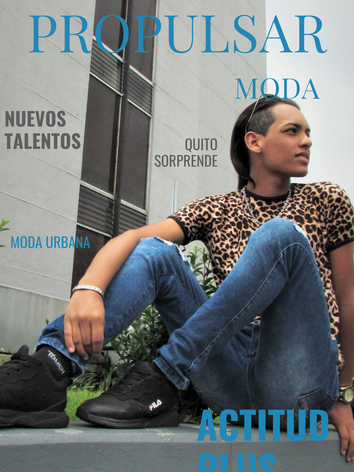Modelo Elisaul Diseñador Bladimir Caicedo Lugar CCQ Fotógrafa Maru