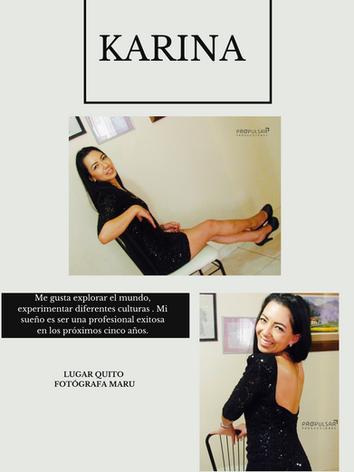 Modelo Karina Lugar Quito Fotógrafa Maru Diseñador @loveboutique.ec