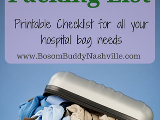 Hospital Bag: What to Pack